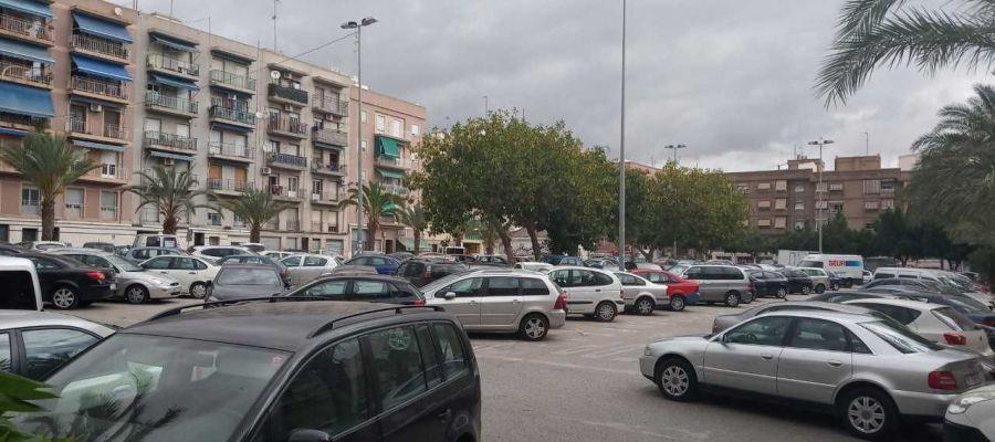 Zona en la que el PSOE quiere el auditorio provincial de Elche.