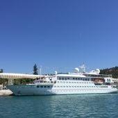 Crystal Cruise, en Málaga