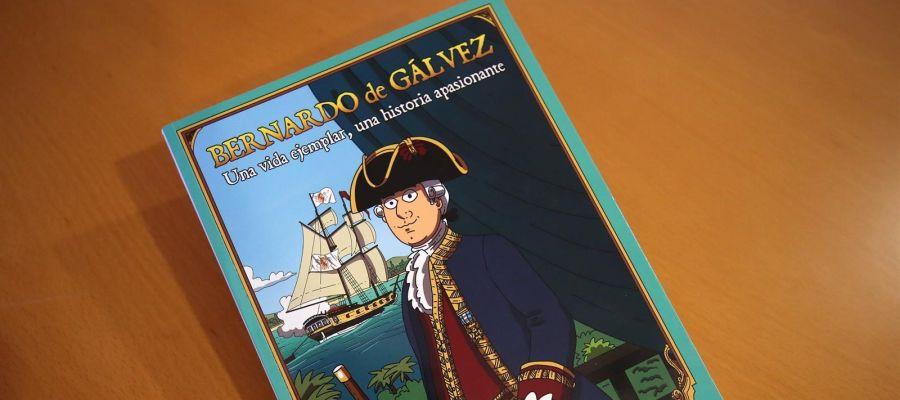 Bernardo de Gálvez, en cómic