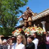 La procesión en honor a San Isidro se ha celebrado en Alarcos