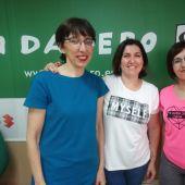 Integrantes de la Asociacion Ilicitana del Trastorno Autista y del Lenguaje en los estudios de Onda Cero Elche.