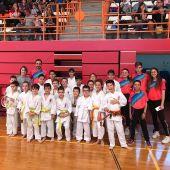 El Club Shotokan Carrús sumó 16 medallas en el Trofeo Primavera de Aspe.