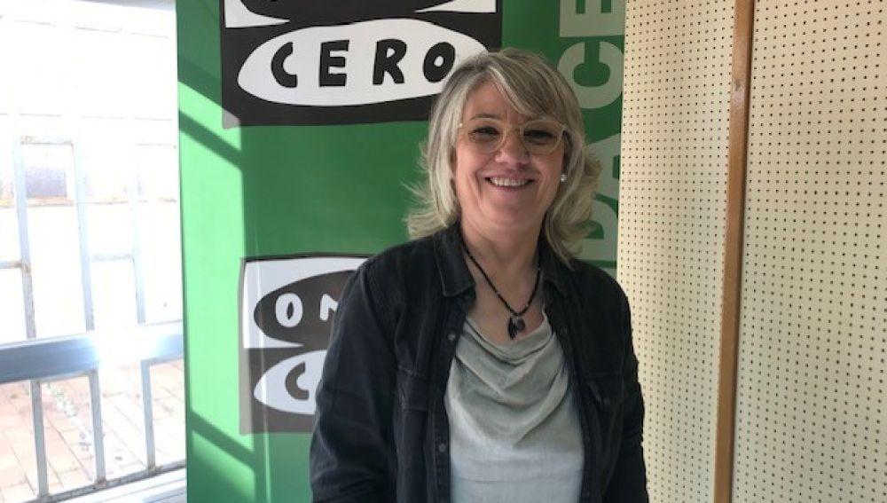 María José Ortega candidata del PP a la alcaldía de Aguilar de Campoo.