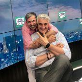 Alberto Granados junto a Fernando Romay