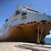"""El barco """"Grande Europa"""""""