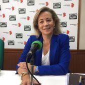 Lola Merino, durante la entrevista en Onda Cero Ciudad Real