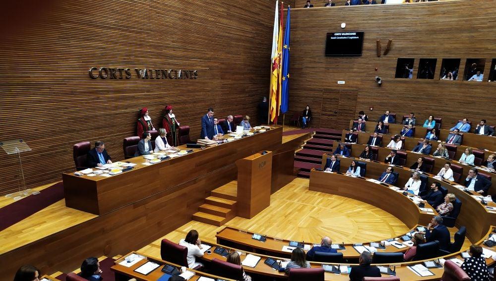 Constitución Corts valencianes Enric Morera