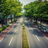 Simulación de la Avenida de La Libertad de Elche tras la reforma que plantea Contigo.