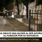 Herida grave una mujer en Granada tras ser apuñalada al parecer por su expareja
