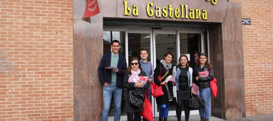 PSOE Plaza de Abastos