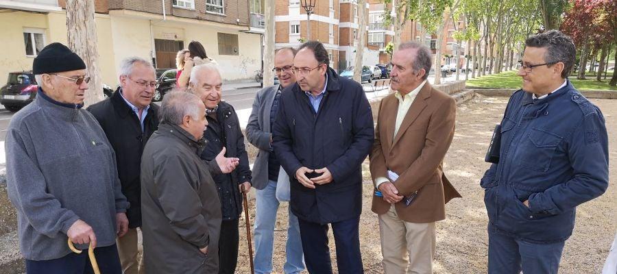Polanco visita el barrio de El Carmen