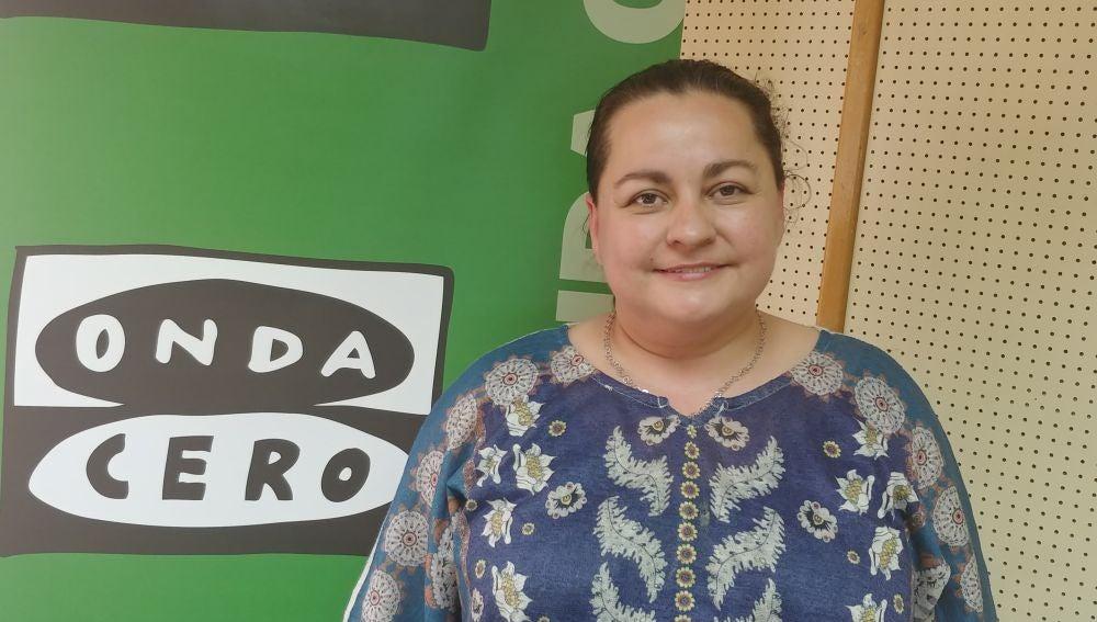 Sonia Ordoñez, candidata de Ganemos Palencia a la alcaldía de Palencia