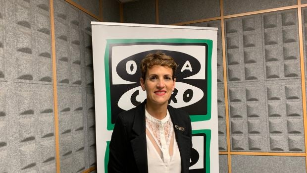 "María Chivite (PSN): ""Con UPN no podemos contar para construir nada ni en Navarra ni en España"""