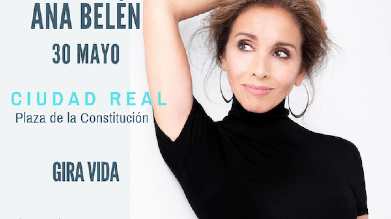 Ana Belén Abre Hoy En Ciudad Real Los Conciertos En