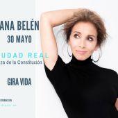 Ana Belén actúa hoy en Ciudad Real