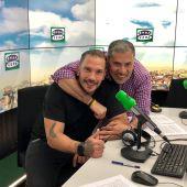 Alberto Granados junto a Aurelio Morales en Onda Gourmet