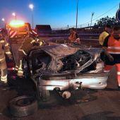 Brutal accidente de tráfico en Redondela