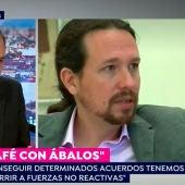 José Luis Ábalos, durante su entrevista en Espejo Público