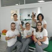 Deisy, María, Adri, Paula e Pilar de Axón
