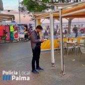 La Policía de Palma levanta 60 actas a locales por no cumplir con las Zonas de Especial Interés Turístico