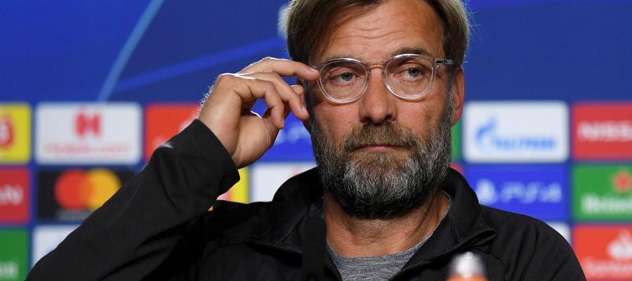 Jurgen Klopp, técnico del Liverpool
