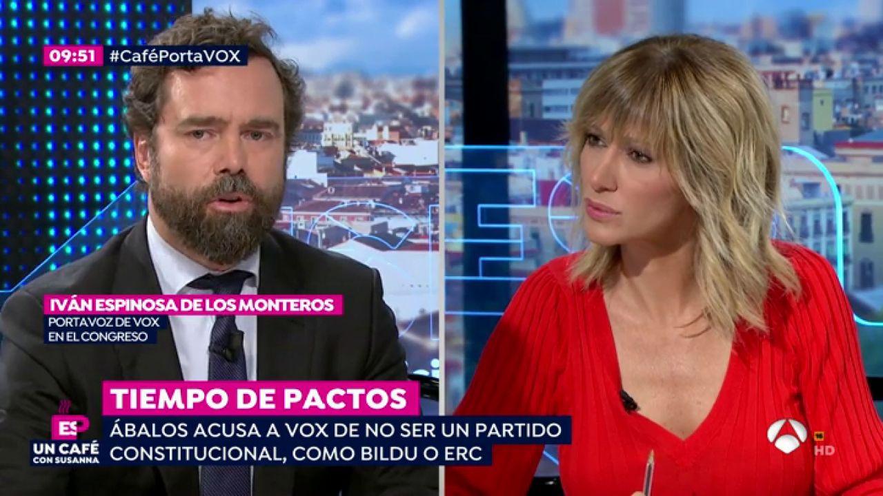 """Iván Espinosa De Los Monteros, Sobre Bildu: """"El PSOE"""
