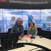 María Teresa Campos en Julia en la Onda