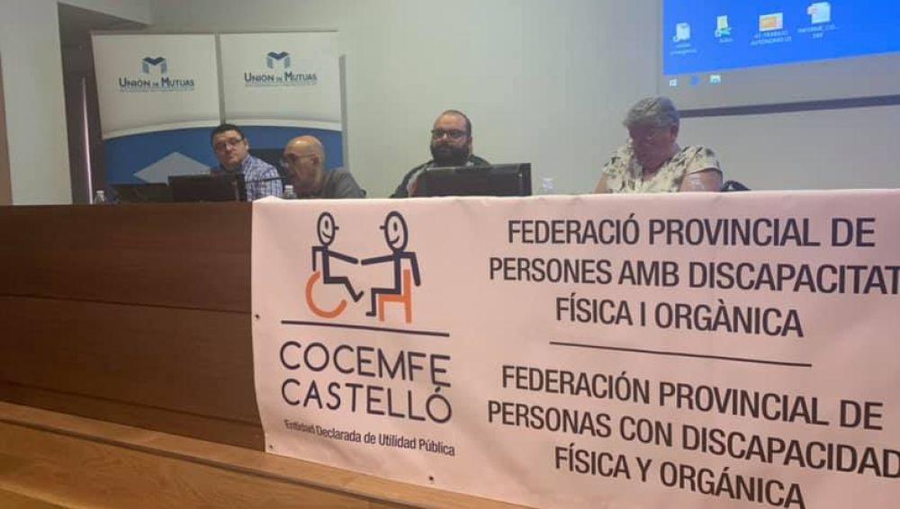 COCEMFE Castelló elige a Joaquín Nebot como nuevo presidente.