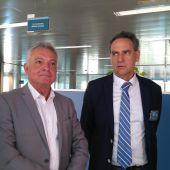 El director general de Puertos y Aeropuertos de Baleares, Xavier Ramis.