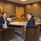 La comisión negociadora del PP de Castilla y León y el comité autonómico de negociación de Ciudadanos