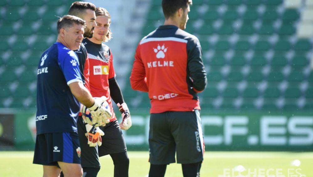 Luis Miguel Quirant ya fue entrenador de porteros en anteriores etapas en el Elche CF.