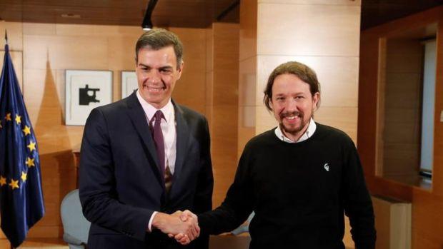 Pedro Sánchez y Pablo Iglesias se reunieron en secreto el lunes en Moncloa
