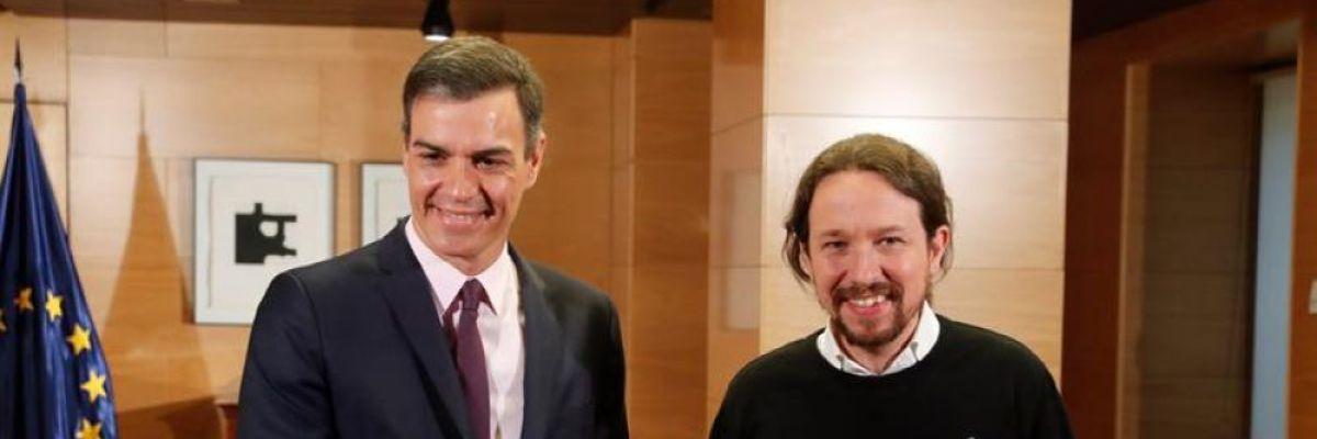 El 70% de las bases de Unidas Podemos apoyan un Gobierno de coalición integral con el PSOE