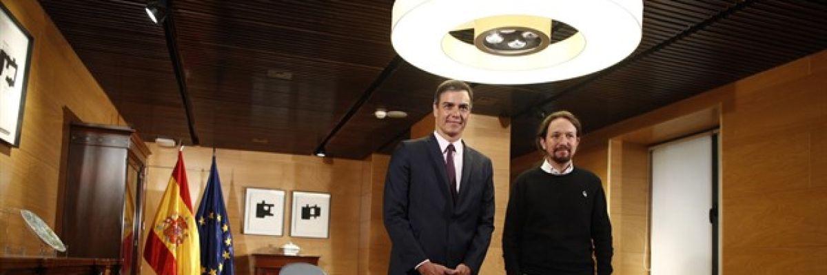 Fracasa la reunión entre Sánchez e Iglesias, que no descarta rechazar la investidura