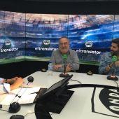 Alfredo Relaño con el nuevo director del AS, Vicente Jiménez.