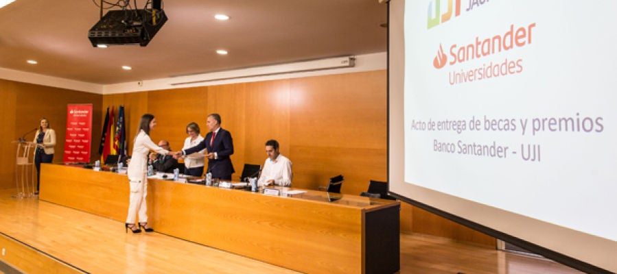 Becas Banco Santander - Universitat Jaume I