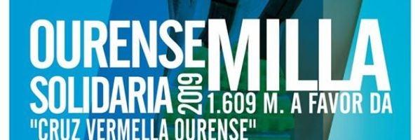 A Ourense Milla Urbana Solidaria 2019 recada fondos para Cruz Vermella