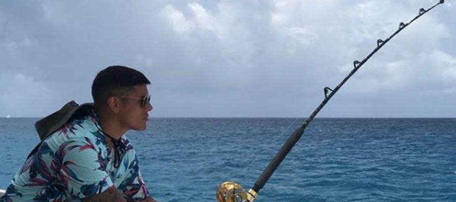 Marcos Rojo, disfrutando de sus vacaciones