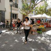 Actividades culturales en el barrio del Raval de Elche.