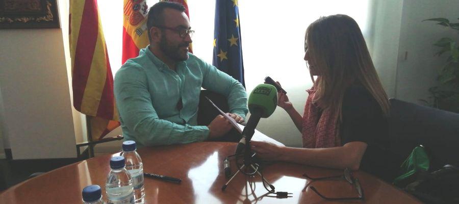 El alcalde de Vila-real, José Benlloch, en Vila-real en la onda con Alicia Llop.