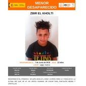 El menor desaparecido en Lepe, Zbir El Kholti