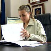 La alcaldesa de la Vall d'Uixó, Tania Baños.