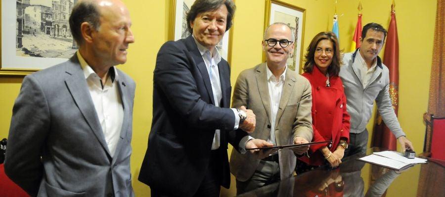 Sintarua convenio Xunta de Galicia e o Concello de Ourense