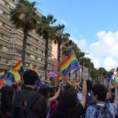 Manifestación del Orgullo en Las Palmas de Gran Canaria