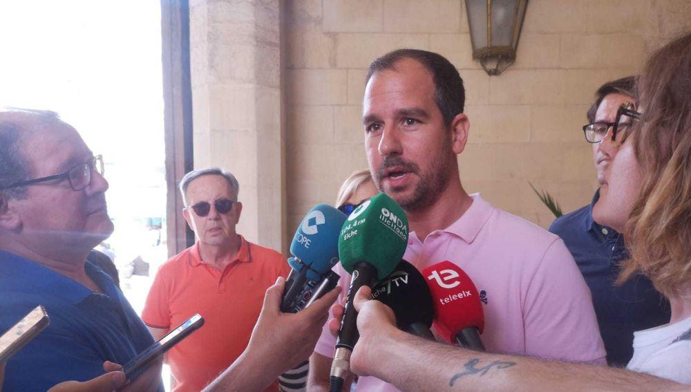 José Navarro, portavoz adjunto del grupo municipal del PP en Elche.