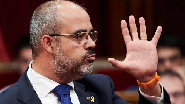 """El lapsus de Miquel Buch: """"He respondido lo que han 'respuesto' la mayoría de alcaldes de Cataluña"""""""