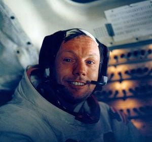 """La entrevista de Alsina a Neil Armstrong: """"En el momento de poner el pie en la Luna he sentido vértigo"""""""