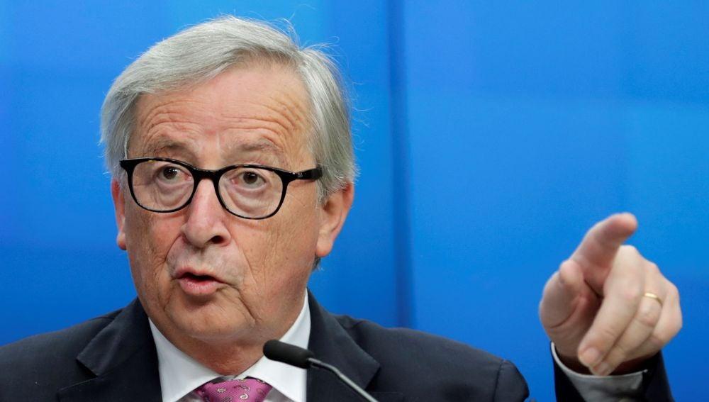 El presidente del de la Comisión Europea, Jean-Claude Juncker