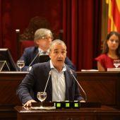 Juan Pedro Yllanes, vicepresidente y conseller de Transición Energética, Sectores Productivos y Memoria Democrática del Govern