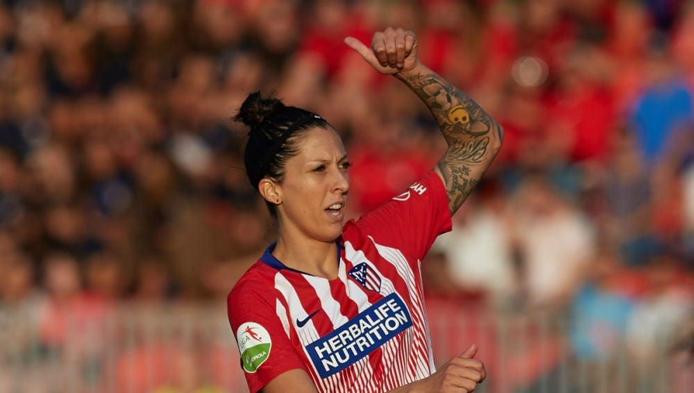 Jennifer Hermoso, con el Atlético